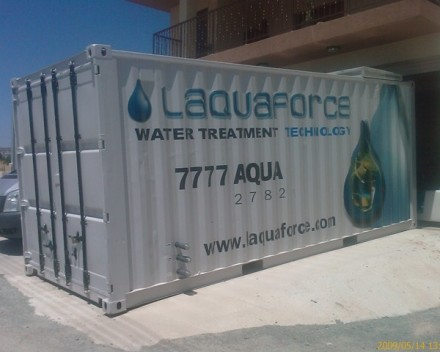 Containerized Mobile Desalination