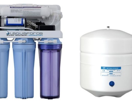 RO105P Reverse Osmosis System with booster pump